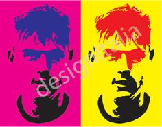 Dybala disegno digitale stile pop art adatto per ogni tipo di stampa di designitalia su Etsy