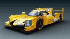 De Dallara LMP2 van Racing Team Holland met Frits van Eerd