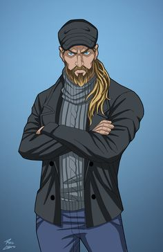 Arthur Curry (Earth-27) commission by phil-cho.deviantart.com on @DeviantArt
