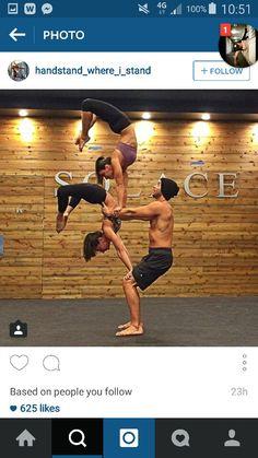 Acro Yoga.