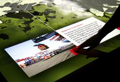 ART+COM:Interaktive Karte im Hamburgmuseum #digitalsignageawards