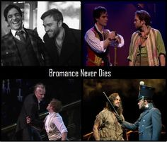 Ramin Karimloo and Hadley Fraser. The fact that I understand the reference in the caption pretty much makes me a mega nerd.