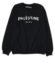 Palestine Gaza  Sweatshirt  Jumper  Political  by REDRESSEDco