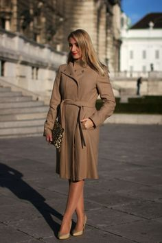 skirt - Forever 21 / twin set - Zalando / coat - C&A / clutch - H&M / necklace - Majolie / rings - Dyrberg Kern, LookbookStore / pumps - Mango M Necklace, Mango, Forever 21, Pumps, Coat, Skirts, Jackets, Collection, Fashion