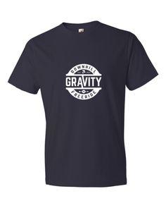 Gravity #2 T-shirt - Navy #gravity #downhill #freeride #mountainbike #bike #mtb