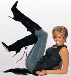 Loved her fashion sense such a fun spirit love always Whitney Houston