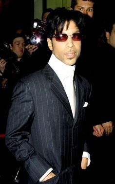 Impeccably-dressed Prince.