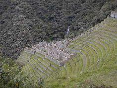 Winay Wayna. Residência nobre inca com templo próxima de Machu Picchu. Significa Sempre Jovem em Quechua.