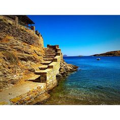 Kythnos: Visit the island's hot springs and 65 incredible beaches. Greece Islands, Ancient Greece, Greece Travel, European Travel, Hot Springs, The Places Youll Go, Travel Destinations, The Incredibles, Vacation