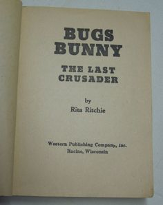 Bugs Bunny The Last Crusader By Rita Ritchie - Vintage 1975 Whitman BIG LITTLE Book Flip-It Moving Cartoons Sylvester's Amazing Juggling Act by NostalgicInMS on Etsy