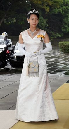 HIH Princess Noriko of Takamado attended the ceremony bidding farewell to Emperor and Empress at Imperial Palace on 02.10.2014