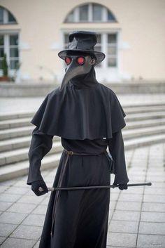 Le plus récent Écran lol disfraz Style Black Plague Mask, Black Plague Doctor, Plague Doctor Mask, Bubonic Plague Mask, Halloween Cosplay, Halloween Costumes, Halloween 2020, Plauge Doctor, Doctor Costume