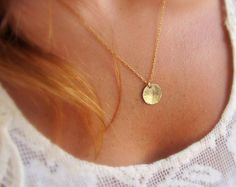 small delicate necklace gold dainty layered necklace tiny