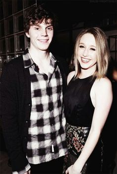 Evan peters and taissa farming can you feel the love