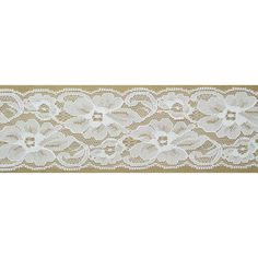 2-1/4' White Floral Pattern Polyester Lace Trim DIR Craft Supply Garment Clothing Accessoriesby 10 Yards ** You can get more details by clicking on the image.