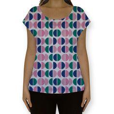 Camiseta fullprint Lunares de @coisista | Colab55