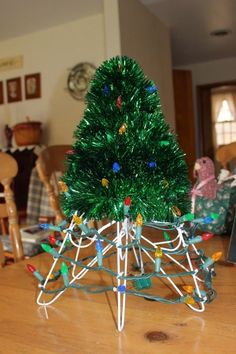 This seems to be the year for me to re-create crafts that I did with my mom or that she made. In the early 80's, a friend of my mother's ha...