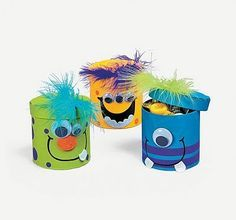 Colorful Magic Color Scratch Fall Leaves(pack of Monster Inc Party, Monster Birthday Parties, 1st Boy Birthday, Foam Crafts, Diy And Crafts, Crafts For Kids, Monster Treats, Ideas Para Fiestas, Happy B Day