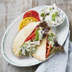 Tzatziki Chicken Salad Sandwich made with Chobani Greek Yogurt - perfect summer lunch!