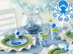 The Party Cupboard : Ocean Preppy Whale Birthday Party : Ocean Preppy Party Supplies Baby Shower Decorations For Boys, Boy Baby Shower Themes, Baby Boy Shower, Whale Birthday Parties, 1st Birthday Party Supplies, Birthday Ideas, Birthday Lunch, Boy Birthday, Shower Party