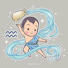 Welcoming February~ Minguk as Aquarius ♒
