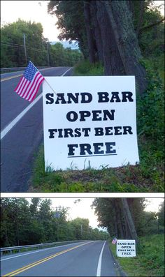 First-Beer-Free Sandwich Sign Promo Money Cards, Gift Vouchers, Wine And Spirits, Gift Certificates, Free Samples, Retail, Beer, Sign, Root Beer