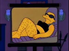simp/son Snipsons is a gallery of non-contextual Simpsons screenshots. Patty Y Selma, Simpsons Marge, Simpsons Funny, Simpson Tumblr, Selma Bouvier, Studio Ghibli, Los Simsons, Vintage Cartoon, Cartoon Pics