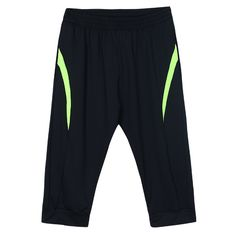 Sale 17% (22.97$) - Mens Gym Fitness Exercise Sports Running Shorts Casual Cropped Pants