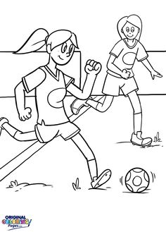 I Love Soccer Coloring Page From Twistynoodle Com Sports