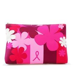 Online Exclusive Breast Cancer Crusade Cosmetic Bag - proceeds go to the Avon Breast Cancer Foundation. To buy go to my estore at: http://www.youravon.com/srudek    To sell Avon go to: http://www.startavon.com   Enter code: srudek
