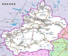 Xinjiang Road Map