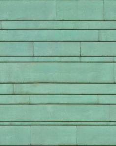 textures and material library Metal Facade, Green Facade, Metal Roof, Copper Roof, Copper Wall, Green Copper, Autocad, Green Roof Benefits, Eclectic Restaurant