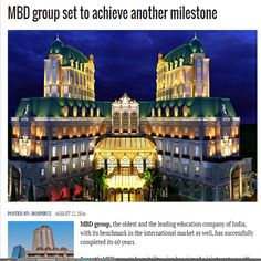 Latest News and Media Interactions-MBD Group