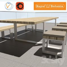 Royal Botania / outdoor furniture Vigor #royal_botania