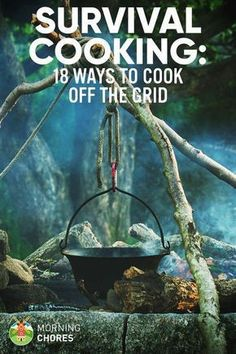Survival Cooking: 18 Off-Grid Cooking Strategies with out Electrical energy.... *** See more at the picture #survivalcooking
