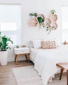 Room Ideas Bedroom, Home Bedroom, City Bedroom, Peaceful Bedroom, Bedroom Signs, Decor Room, Bedroom Shelves, Bedroom Inspo, Bedroom Inspiration