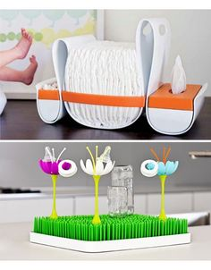 Love that diaper organizer! Boone makes the coolest baby products; I love our grass drying racks!!