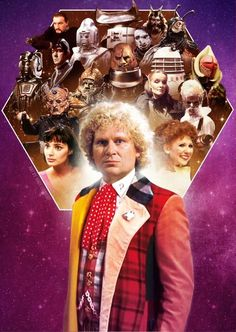 Dr Who. 50th Anniversary.   The Sixth Doctor - Colin Baker