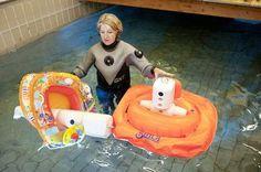 Schwimmlernhilfen für Kleinkinder: Auf Prüfzeichen achten