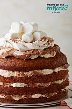 Torte au chocolat spectaculaire #recette