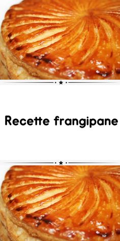 Frangipane Creme Patissiere, Frangipane Recipes, Desserts With Biscuits, French Food, Flan, Queso, Deli, Apple Pie, Sweet Recipes