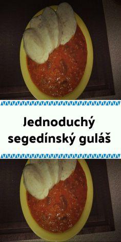 Jednoduchý segedínský guláš