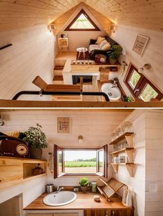 super spacious 42 foot tiny home on wheels the denali xl by rh pinterest com