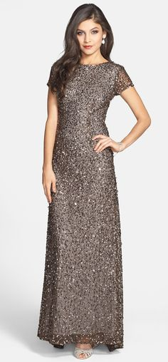 Gunmetal sparkle gown http://www.theperfectpaletteshop.com/#!mother-of-the-bride-dresses/cnaf