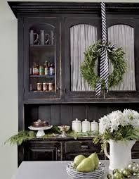 Image result for black and white christmas decorations
