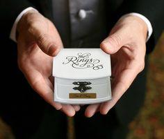 Personalized Ring Bearer Box Engraved For Free Alternative Ring Bearer Pillow Wood Case For Wedding Rings For Ring Bearer To Use by KreativeEarth on Etsy https://www.etsy.com/listing/465794436/personalized-ring-bearer-box-engraved
