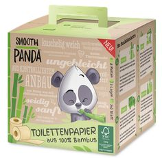 Das neue Klopapier - Smooth Panda Bambus-Toilettenpapier