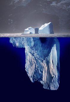 Eisberg-Modell Unterbewusstsein kontrollieren - Unterbewusstsein programmieren - Affirmationen - Ziel - Wünsche - Träume