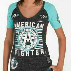 ISO ANY AMERICAN FIGHTER CLOTHING in women & mens I'm looking for any american fighter clothing in womans from size small or med and men's american fighter size med american fighter Tops