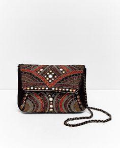 ZARA - WOMAN - MIRROR EMBROIDERED BAG
